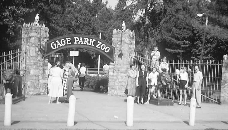 Topeka Zoo historical