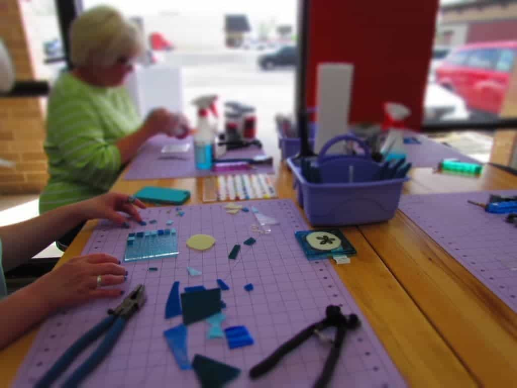 Springfield Missouri attractions - Fused glass - DIY art projects