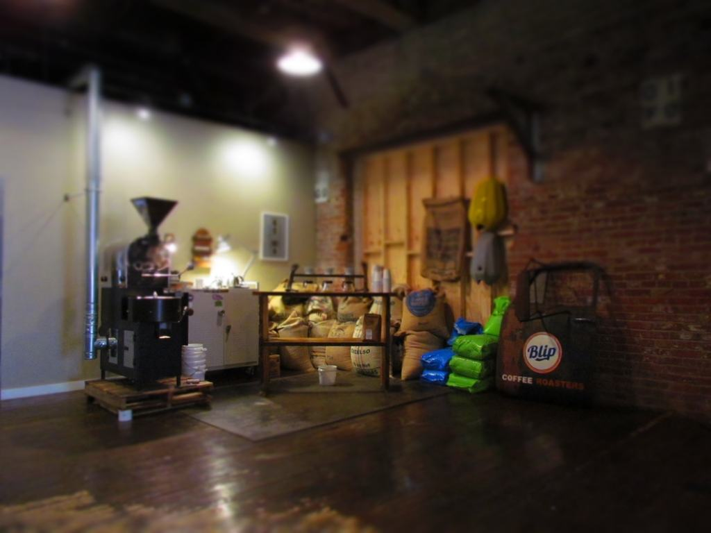 Coffee roaster machine.
