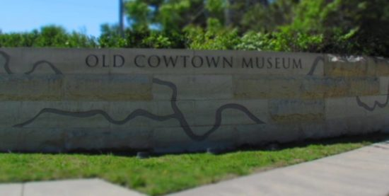 Old Cowtown entrance.