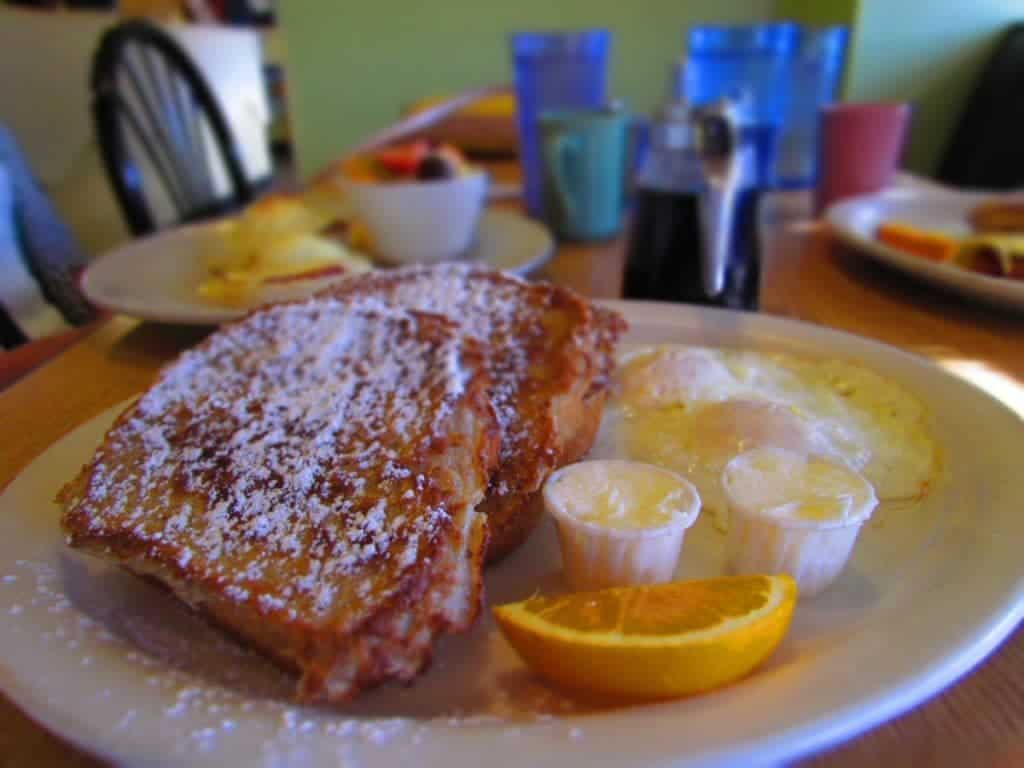 Egg Crate cafe - Wichita restaurants - Breakfast - French Toast