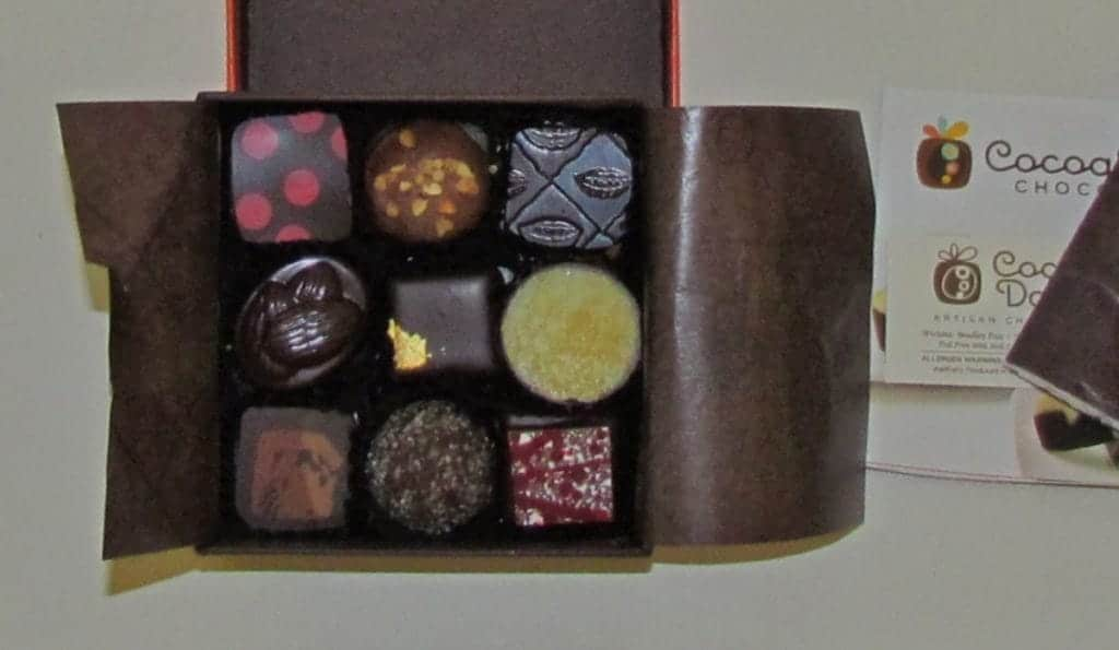 Our box of chocolates.