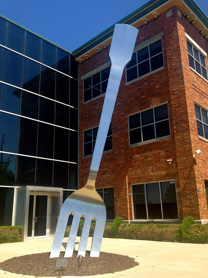 World's Largest Fork.