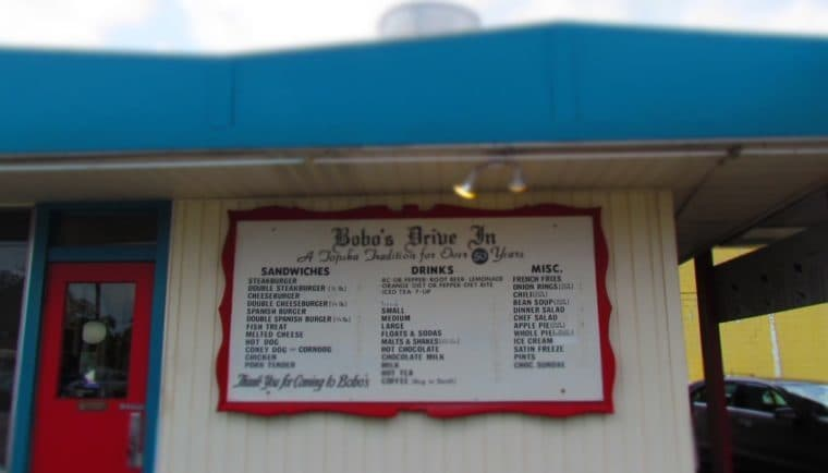 Bobo's Drive In-Topeka Kansas-burgers-fries-onion rings-diner-restaurant