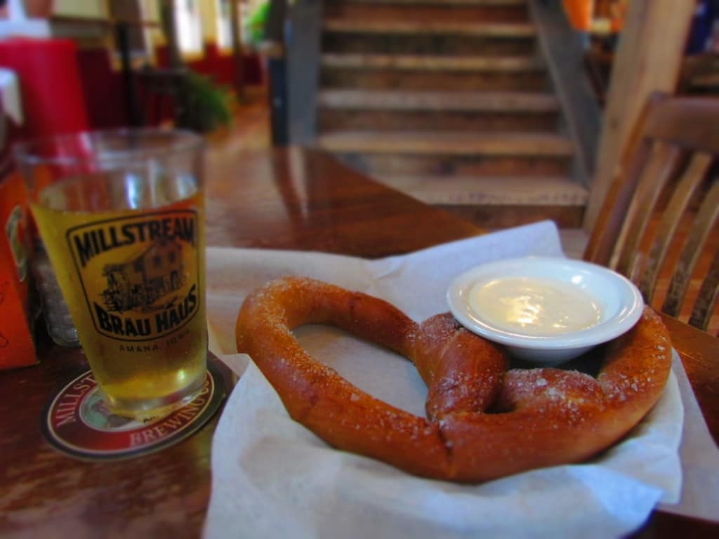 Millstream Brau haus-Amana-Iowa-German cuisine-restaurant-brewery-craft beer