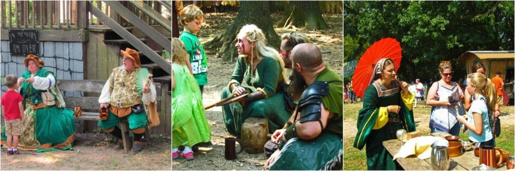 Characters are always willing to interact with guests of all ages.