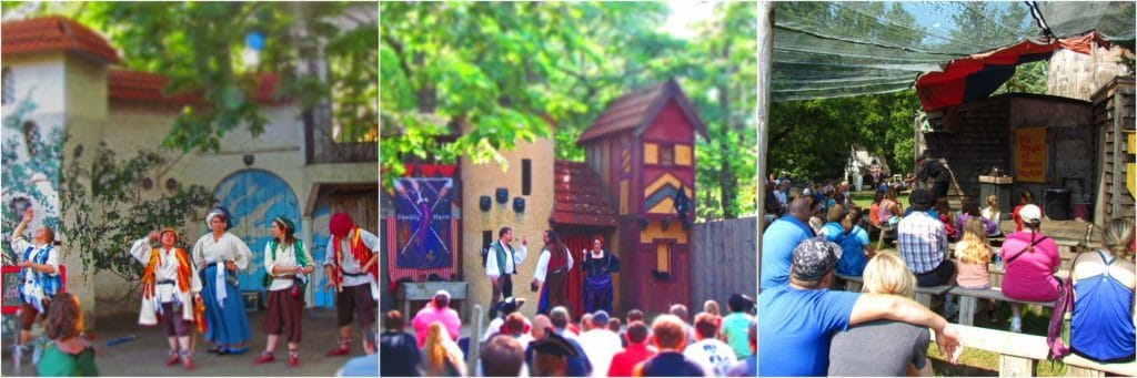 A variety of shows are available for guests to attend.