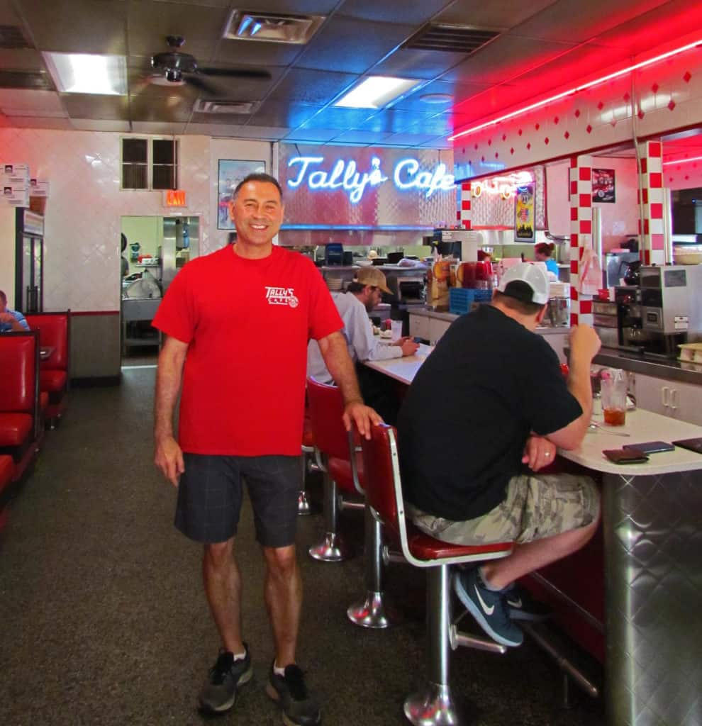 Tally is the owner operator of Tally's Cafe in Tulsa, Oklahoma.