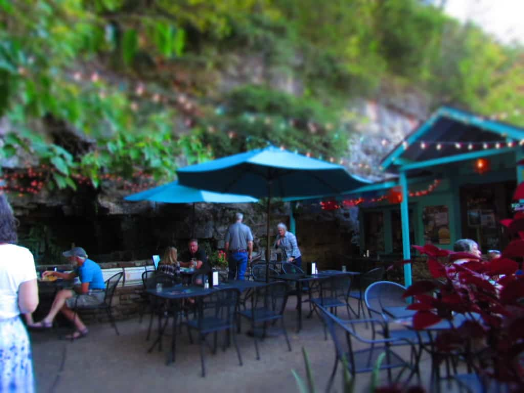 A variety of outdoor seating is available at Aquarius Taqueria.