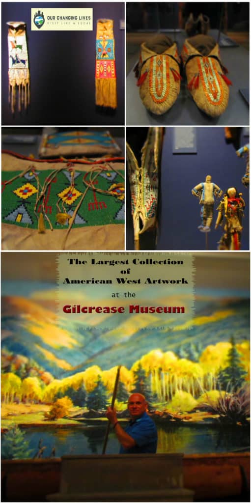 Gilcrease Museum-American Art-Native American-Tulsa Oklahoma-artwork-sculpture-hands on activities-artifacts