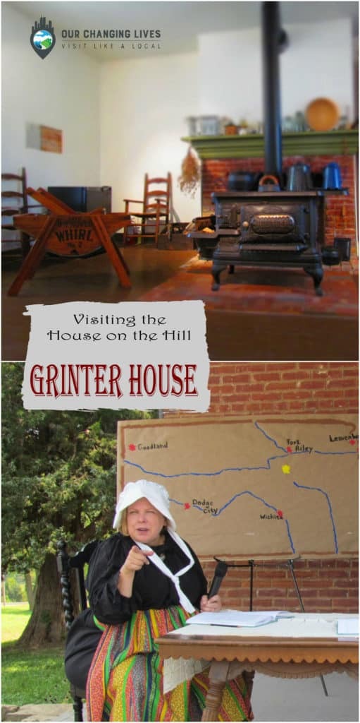 Grinter House-Grinter Place Historic Site-Wyandotte County-Kansas City Kansas-Delaware Indians-Kaw river-ferry-trading post-Moses Grinter