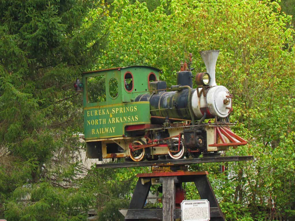 Eureka Springs Railroad-train-railroad=lunch-excursion-Arkansas