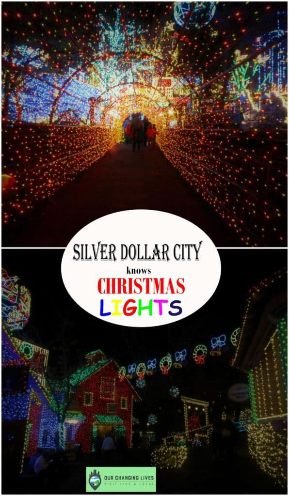 Silver Dollar City-Old Time Christmas Festival-Christmas lights-Branson Missouri