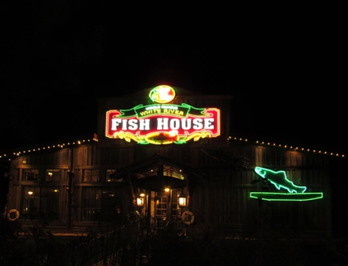 Silver dollar city knows christmas lights our changing lives for Fish house lights