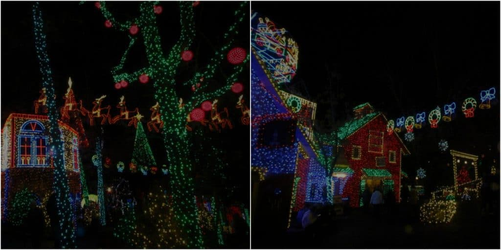 More light displays at Silver Dollar City.