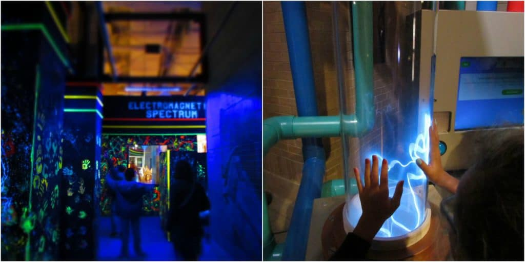 Lights of all sorts are enticing to kids, and Science City delivers big with plenty of exhibits featuring various light sources.