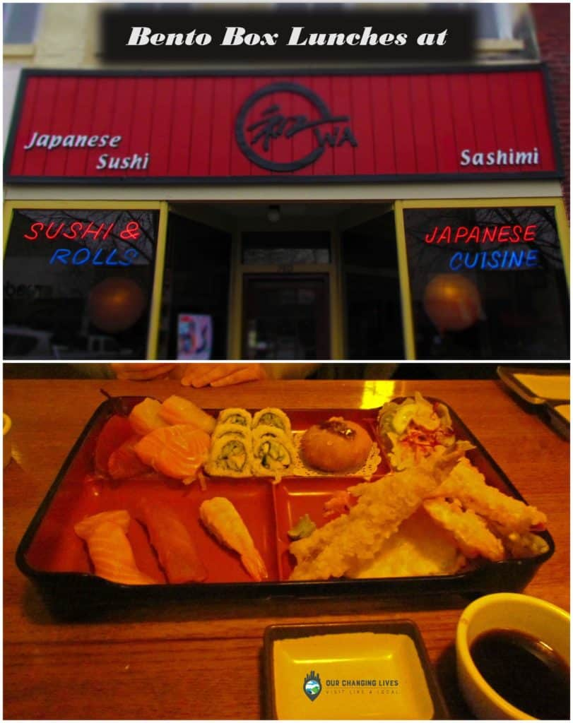 Wa Restaurant-Lawrence Kansas-sushi-bento box