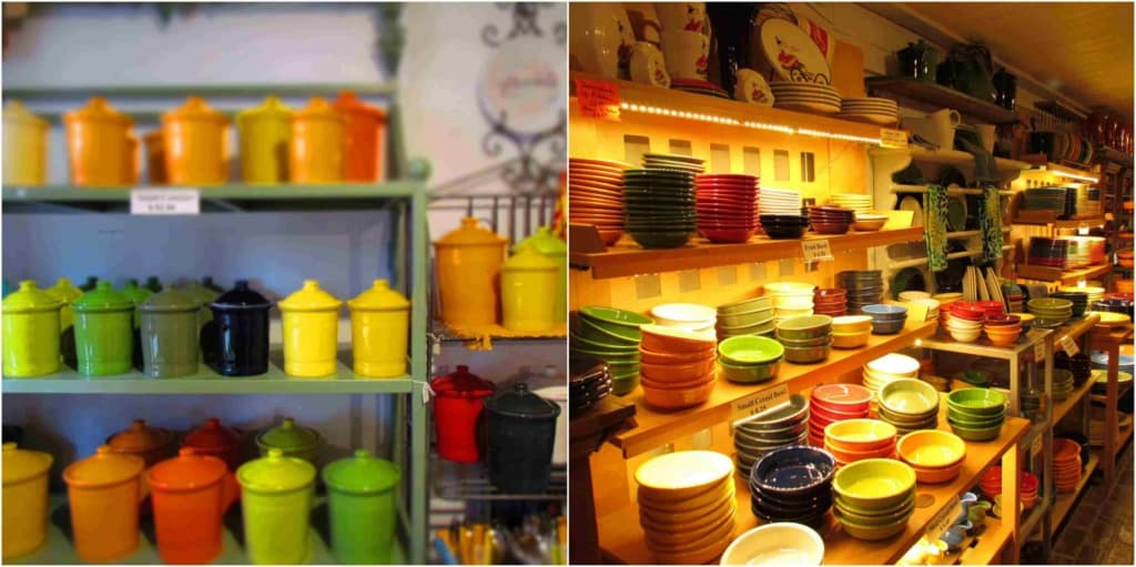 The Cockrell Mercantile has tons of Fiestaware options.