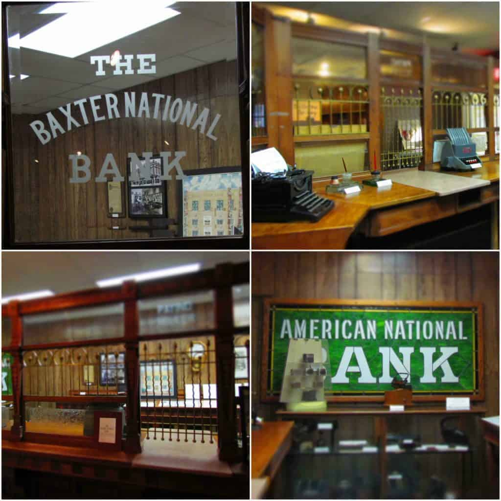 Banking was an important business during the mining days of Baxter Springs history.