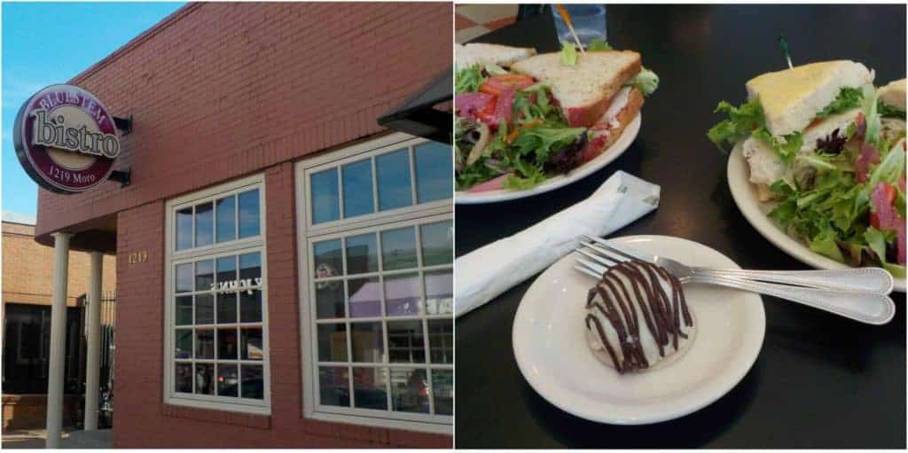 The Bluestem Bistro was a perfect choice for a healthy lunch in Aggieville.