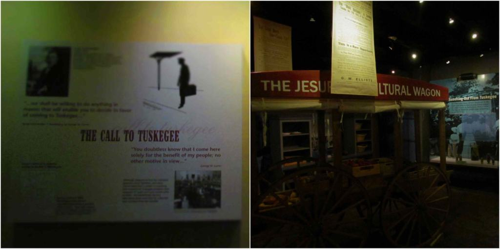 The Tuskegee Wagon allowed George Washington Carver to take the classroom to the fields.