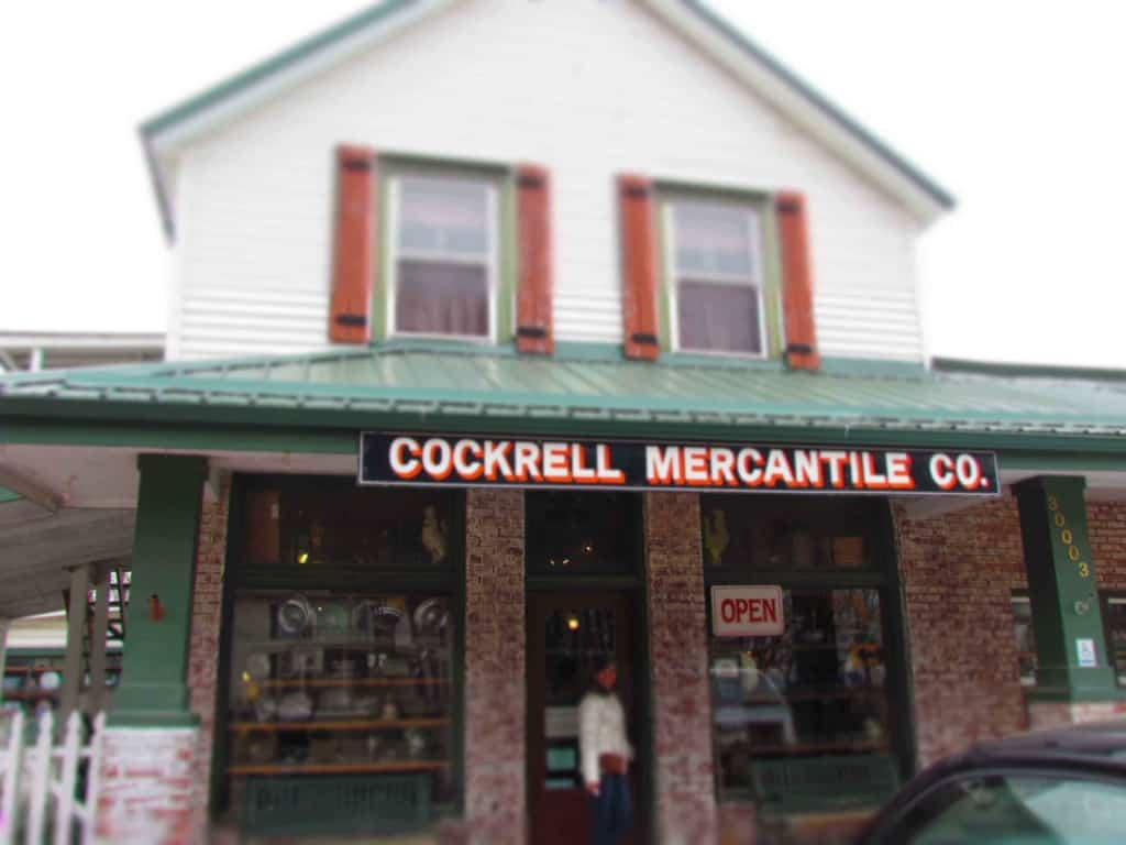 Cockrell Mercantile Company draws shoppers form all over the region to their homey shops.