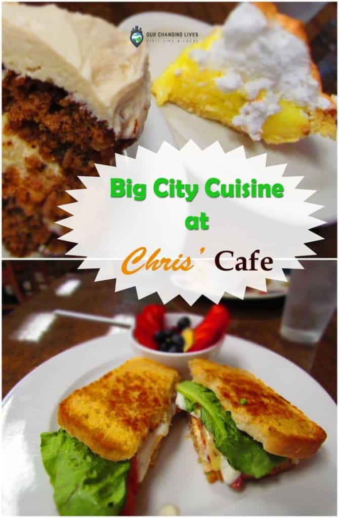 Chris' Cafe-dining-Osawatomie-restaurant-small town cafe-big city cuisine-unexpected-desserts-homemade breads