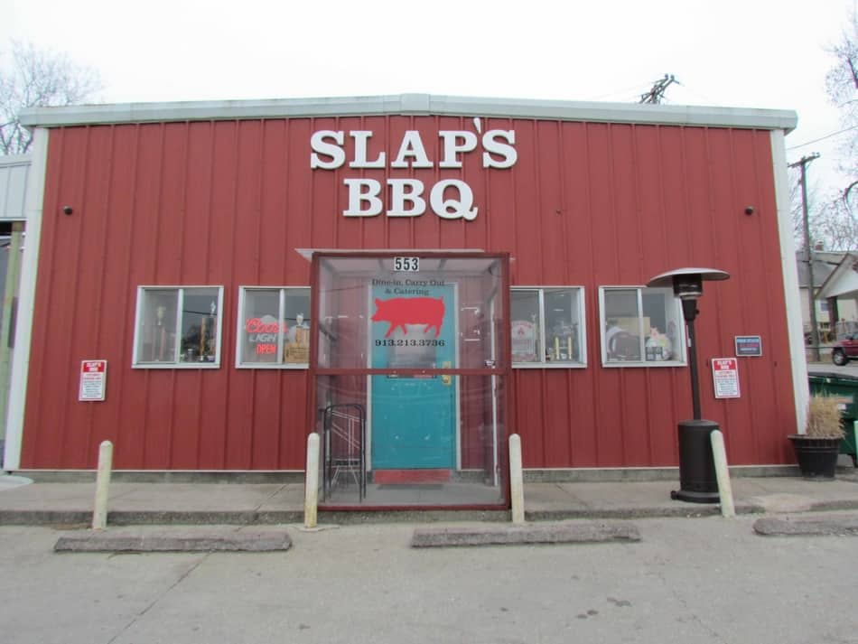 The exterior of SLAP's BBQ hides the smoky goodness of the dishes found inside.