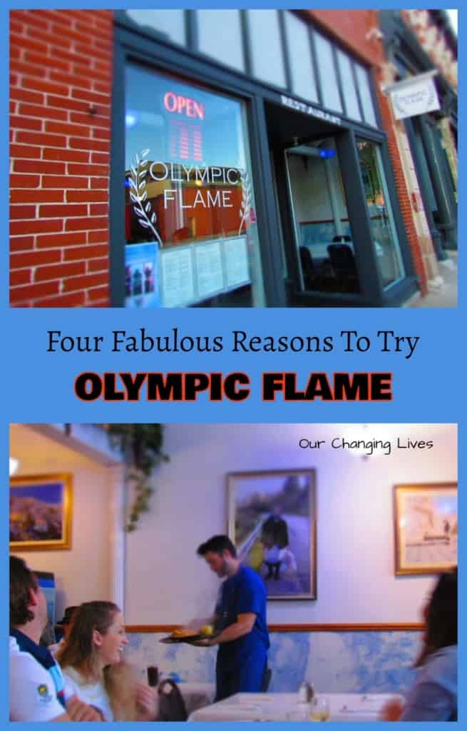 Olympic Flame-Des Moines-Iowa-Greek cuisine-food -belly dancer-flaming cheese-videos