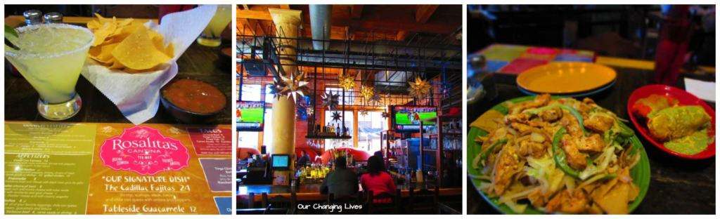 Rosalita's Cantina makes a great Happy hour stop during a visit to City Museum.