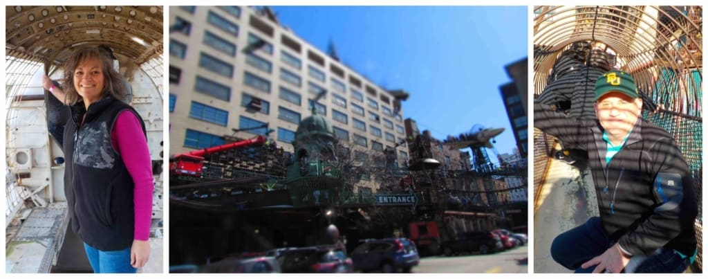 A visit to City Museum is like a super sized playground for kids of all ages.