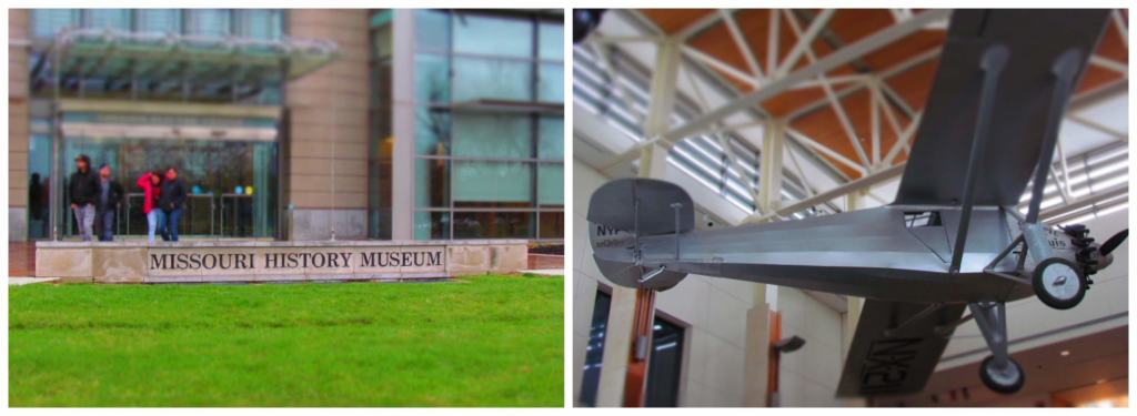 The Missouri History Museum showcases the path that St, Louis has taken to get where they are today.