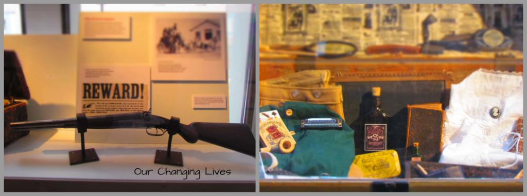 The Wells Fargo Museum, in Des Moines, Iowa, has lots of artifacts from the hey-day of stagecoach travel.