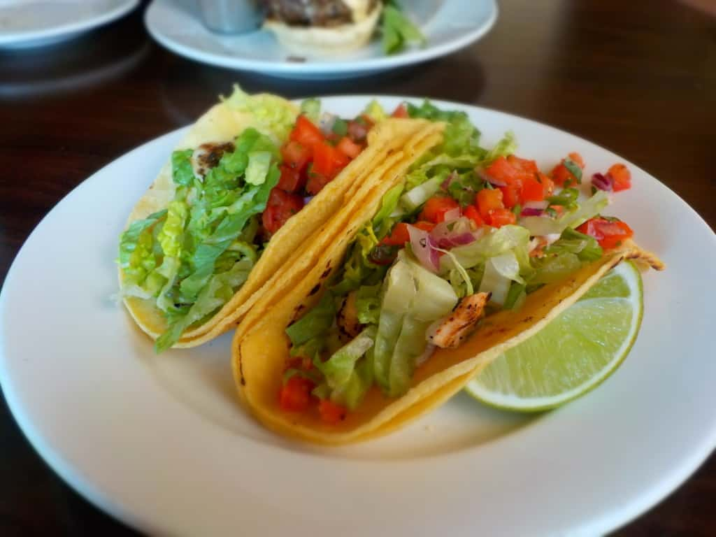 Chicken Tacos offer a little kick at Piropo's in Kansas City, Missouri.