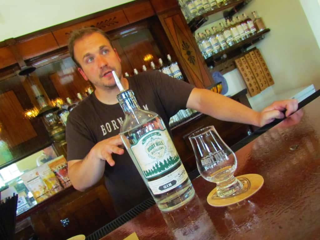 Mark explains the principles behind the creation of Boot Hill gin.