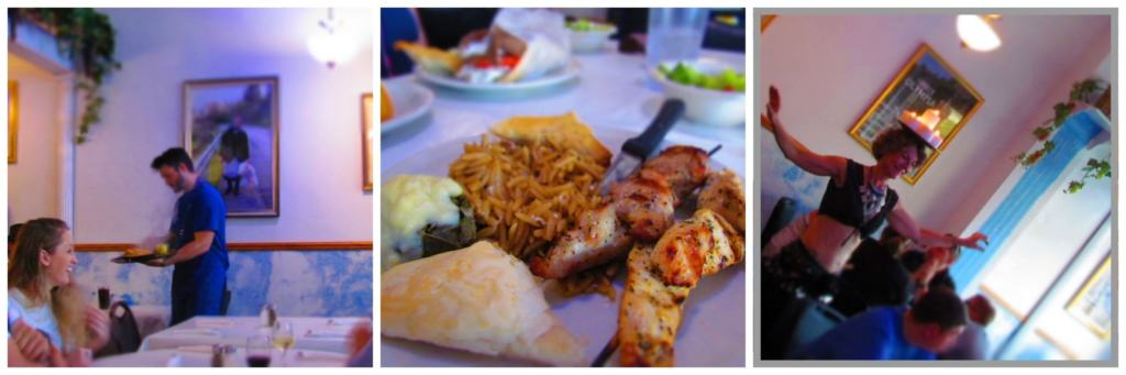 Olympic Flame Restaurant serves up Greek cuisine with the added excitement of entertainment.