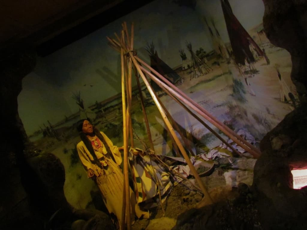 Native Indians were the first to occupy the lands that are now Dodge City.