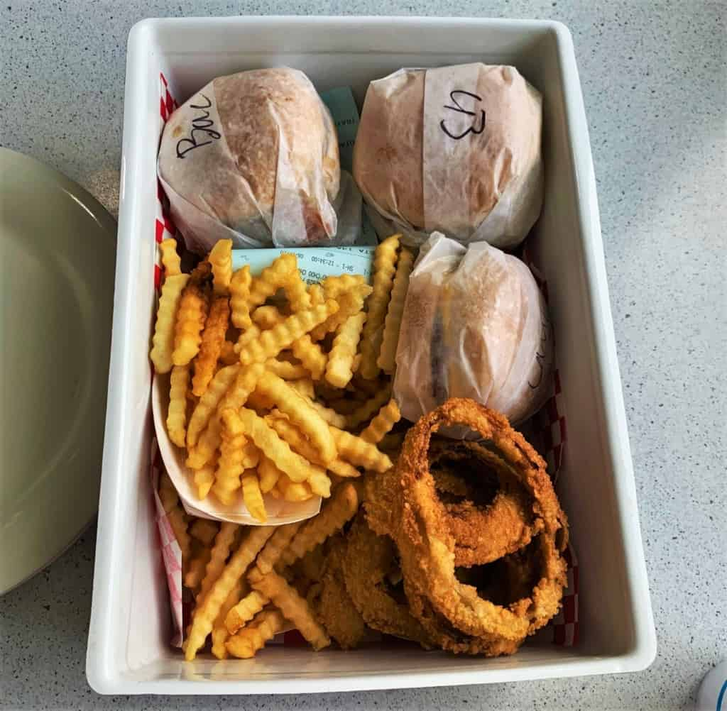 A box of delectable eats is the reward for a visit to Fritz's.