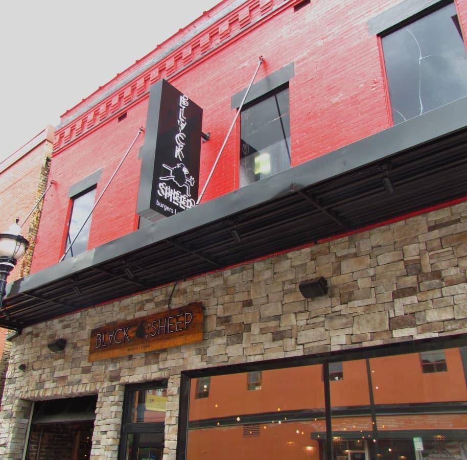 Black Sheep Burger in Springfield, Missouri.