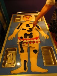 Over-sized Operation game.