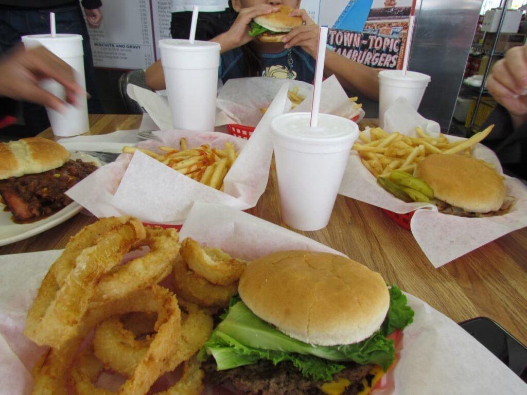 Town Topic restaurant - Kansas City restaurants - burger stands - historical dining