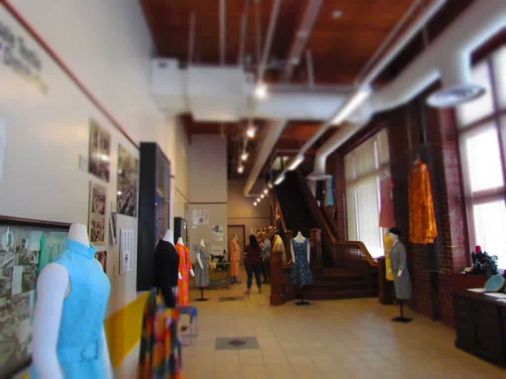 Garment District Museum - Kansas City attractions - dress making - clothing manufacturing
