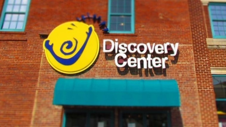 Entrance to Discovery Center.