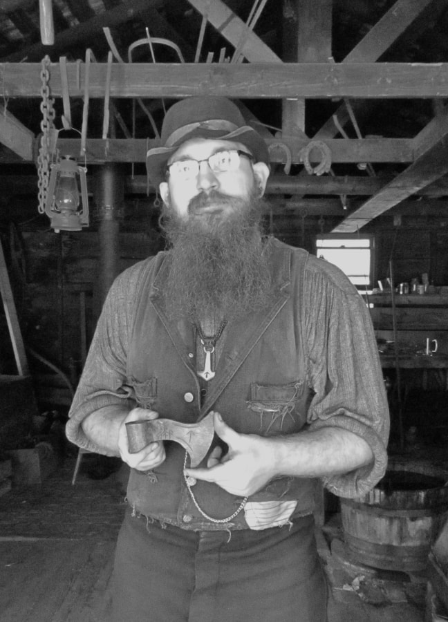 Blacksmith - Old Cowtown - Wichita Kansas attractions