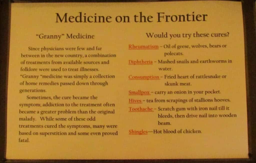 old cures for diseases.
