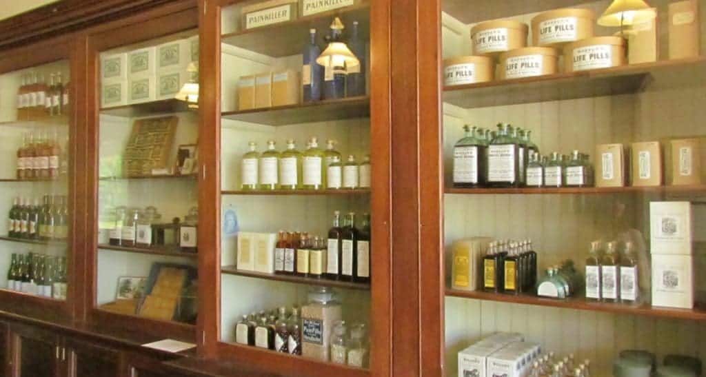 Medicines from the 1860's.