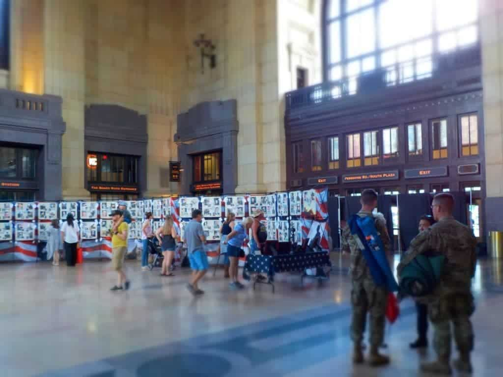 Union Station - Kansas City attractions - Memorial Day - War memorials - Celebrations