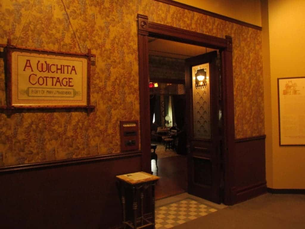 """A """"Wichita Cottage"""" exhibit showcases life in the city at the turn of the century."""