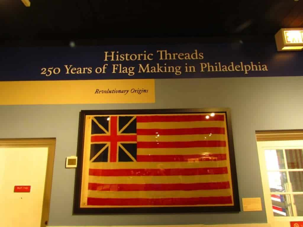 Betsy Ross - Philadelphia - Stars and Stripes - Old Glory - Revolutionary War - America