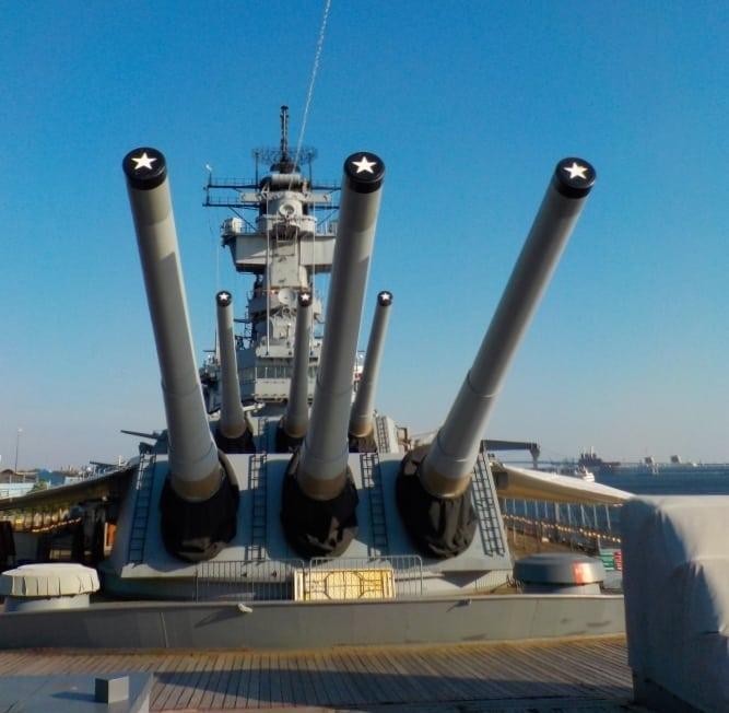USS New Jersey - battleship - US Navy - WWII - Korean War - Vietnam War - Flagship - Philadelphia